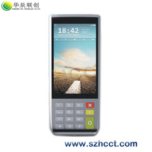 H-S1000 cheap nfc handheld android pos with printer