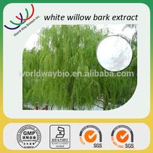Natural salicin white willow bark extract powder,arthritis prevention 30%salicin,white willow bark salicin powder extract