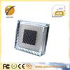 2014 cheap price chargable auto solar led glass brick light NK-200
