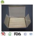 descartável de laboratório médico madeira cosméticos espátula de cera