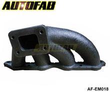 AUTOFAB - Turbocharge Exhaust Manifold Header Cast T25 FOR Toyota AE86 corolla GTS 85-87 Fit 38MM Wastegate AF-EM018