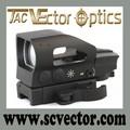 vector óptica 1x23x34 trinquete compacto ligero táctico de liberación rápida multi retículas alcance la vista verde punto rojo del retículo
