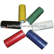 Ruban colorido PVC fita isolante rolo log