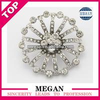 round rhinestone button for wedding decoration