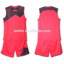 Hot sale basketball jersey dri fit basketball team wear kids wholesale basketball uniforms set