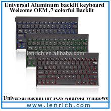 LBK406 Backlit LED Illuminated bluetooth keyboard for samsung galaxy s5