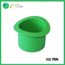 Hot Sale Popular Colorful silicone flower pot with rack
