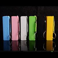 perfume mobile power bank 2600mah 2200mAh portable keychain power bank