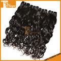 """Mojado y ondulado cabello humano tejer african american cabello remy 3pcs/set 14 16 18"""" malasia natural color de onda virgen extensión del pelo"""