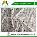 creative bordados de algodão ilhós laço para o vestido
