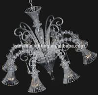Beautiful clear glass chandelier(81052-8)