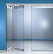 High quality tempered glass sliding wall with ISO CCC CE