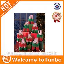 2014 Christmas Decoration Santa Pants Gift And Treat Bags candy bag for xmas