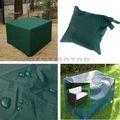 a prueba de agua 205x104x71cm jardín al aire libre muebles del patio de la cubierta de mesa silla de refugio