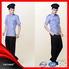 high quality 2014 hot sell wholesale customized Factoy Price stylish kadet polis uniform