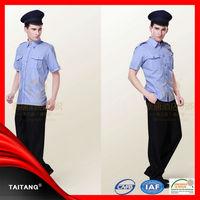 high quality 2015 hot sell wholesale customized Factoy Price stylish kadet polis uniform