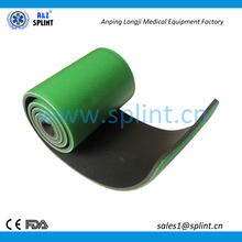 emergency mouldable foam roll up splint