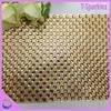 6*6 8*8mm adhesive diamonte strip rhinestone strip mesh crystal embellishments for dresses