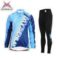 MYSENLAN Women winter long sleeve cycling wear