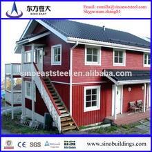 High quality prefabricated fiberglass houses and villas