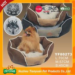 Animal Heads New Design Dog Print Bedding Set, Polygon Shape