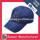 Korean cotton embroidery baseball sports cap