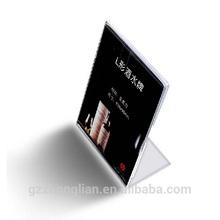 Acrylic Tabletop Menu Display Stand,Acrylic Menu Holder