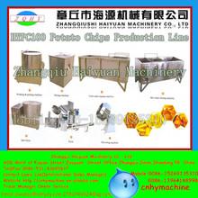 Shandong 30kg/h semi-automatic automatic potato chips making machine