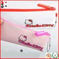Muito bonito novo estilo olá Kitty Zipper Silicone Pencil Bag / bolsa de Silicone / Silicone cosméticos Bag