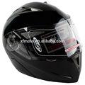 ponto preto brilhante modular flip up dupla viseira de sol rua capacete da motocicleta s m l xl
