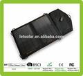 2015 nuevo producto caliente de doble cargador usb de coche de aluminio del panel solar para el iphone y el ipad directamente bajo la luz del sol