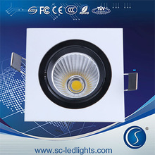 Epistar 27w 100-240V supply power C type square two head 10W square led grille down street light/led