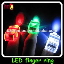 Led fashion finger ring china wholesale golden supply
