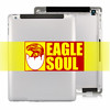 High quality for the new ipad 3 back cover housing replacement