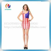 sencillo vestido largo de los últimos diseños fotos vestido vestido de hawaiano para las mujeres