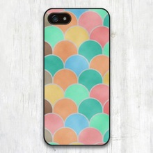 Japanese fan curve patterned high quality phone case for iphone 5 5s