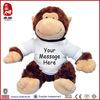 Promotional soft monkey for new year plush monkey names