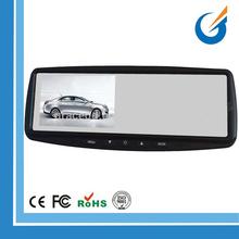 Color Image 4.3 Inch Rear View Mirror Car Monitor