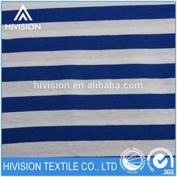 In Season good prices Diamond fabric cotton blue and white striped