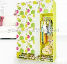 2014 Hot DIY Bedroom Wardrobe Closet for Shoe and Clothes