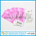 شفاف الطباعة التجارية بطاقة