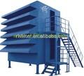 la casa del filtro de aire para la separación