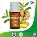 Aceite esencial de jengibre, aceite de jengibre de producción, aceite de jengibre aceite de masaje corporal
