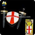 medieval cruzada se realize cosplay arma