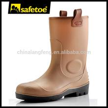 Camo rain boots, safety rain boots with steel toe W-6002B