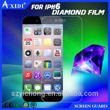 Axidi screen protector diamond film for iphone6 guard gold diamond screen protector