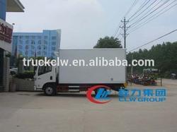 YUEJIN 4X2 china cooling van truck