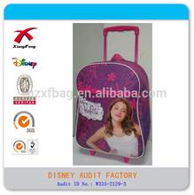 2014 violetta school trolley bag for girls kid trolley backpack