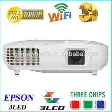 Perfect,bright colors,Native 1920x1080,NTSC,PAL multimedia 3D +3LCD +RGB 1080P LED 3D Full HD Projector
