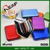 Christmas Gift stocking aluminum wallet/rfid blocking wallet